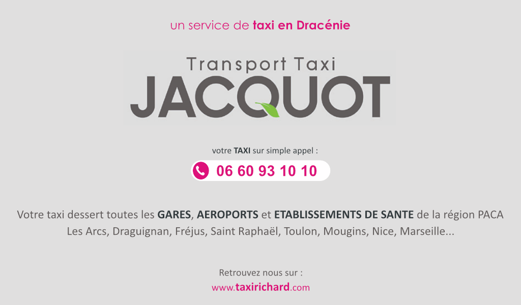 Transport Taxi JACQUOT